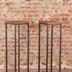 metalen-zuilen-metaal-hout-zwart