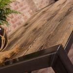 salontafel-metaal-hout-detail